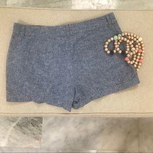 LOFT Shorts - 10 LOFT chambray shorts